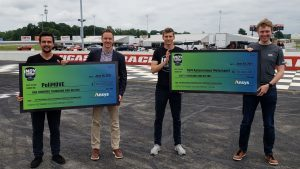 Winning team PoliMOVE and runner-up TUM Autonomous Motorsport are joined by Energy Systems Network President and CEO Paul Mitchell.
