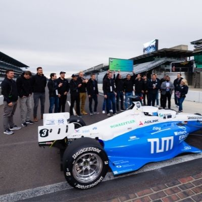 Indy Autonomous Challenge winner TUM from Germany